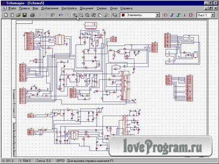 26 май 2013 профессиональная программа для черчения и рисования электрических схем и составления электротехнической...