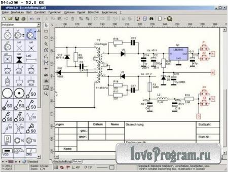 Программа для черчения электронных и ...