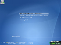 KDE Partition Manager liveCD 1.0.3