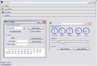 ClockGen 1.0.5.3 - позволяет изменять частоту системной шины, процессора, оперативной памяти и видеокарты