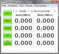 CrystalDiskMark 3.0.0h