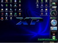 Боковая панель для Windows XP + 270 гаджетов!