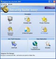 Шифрования данных - Steganos Security Suite 2007 скачать программу