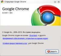 Google Chrome 6.0.472.25 Linux (Debian / Ubuntu deb 32 bit)