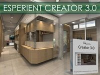 Esperient Creator v3.0 - программа для создания 3D сцен и 3D игр