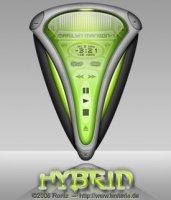 Оболочка для Winamp - Hybrid