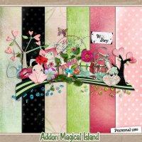Скрап-набор - Волшебный остров