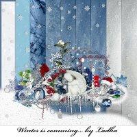 Скрап-набор - Winter is comming