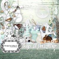 Скрап-набор - Декабрьские дни