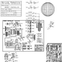 Кисть для фотошопа - Роботостроение Формат - ABR.
