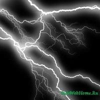 Кисть для фотошопа - Молния