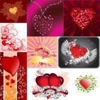 Текстуры для фотошопа - Сердца