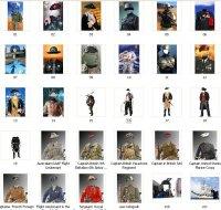 Мужские костюмы шаблоны для Фотошопа (PSD Photoshop)