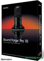 Sony Sound Forge Pro 10.0 Rus - Аудио-редактор
