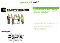 ophcrack Vista LiveCD 2.3.1