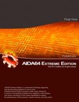 AIDA64 Extreme Edition 1.60.1300 - Final