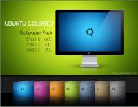 Обои на рабочий стол для Ubuntu Colored