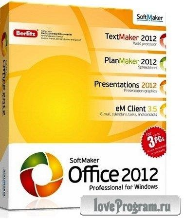SoftMaker Office Professional rev 654 Portable by Speedzodiac (Русский)