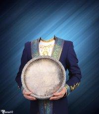 Шаблон для фотомонтажа — национальный костюм 18