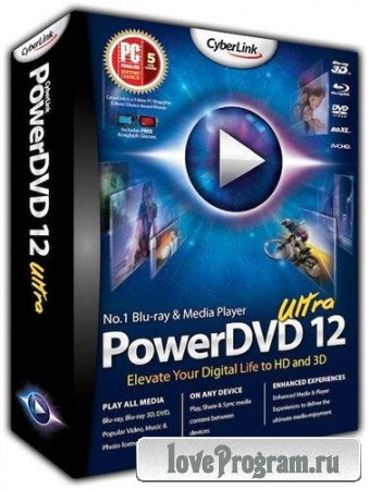 CyberLink PowerDVD Ultra v 12.0.8680.1312 Retail