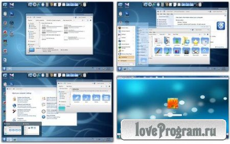 KDE Skin Pack 1.0 for Windows 7 x86/x64