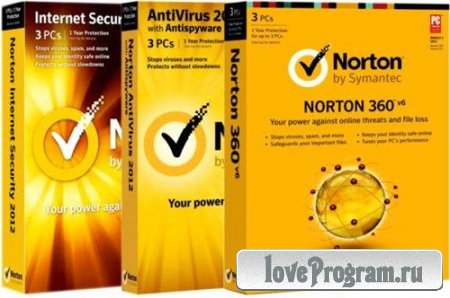 Norton Internet Security/Norton AntiVirus 2012 19.7.0.9/Norton 360 6.2.0.9 Final (Официальные русские версии)