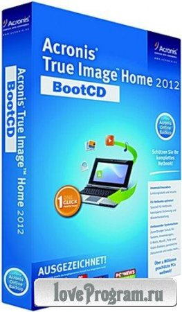 Acronis True Image Home 2012 15 Build 7133 BootCD *Russian*