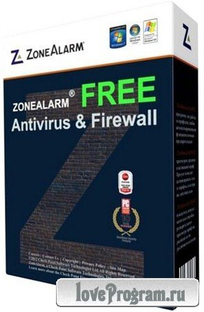 ZoneAlarm Free Antivirus + Firewall 10.2.074.000