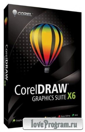 CorelDRAW Graphics Suite X6 16.1.0.843 RUS (x32/x64) RePack by MKN