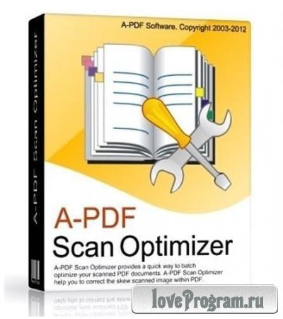 A-PDF Scan Optimizer 2.9.2 RUS RePack by Boomer