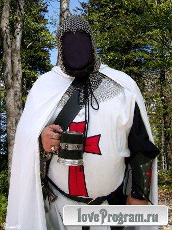 Шаблон для фотомонтажа — старинный костюм