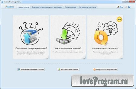 Acronis True Image Home 2012 15 Build 7133 Rus