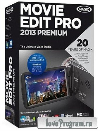 MAGIX Movie Edit Pro 2013 Premium 12.0.0.32