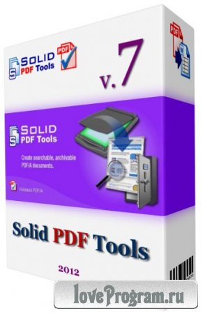 Solid PDF Tools v 7.3 build 2024 Final