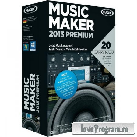 MAGIX Music Maker 2013 Premium v 19.1.0.36 Final