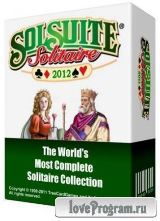 Portable SolSuite Solitaire 2012 + Graphics Pack v12.9 Rus