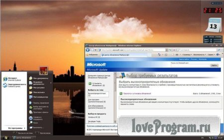 Microsoft Windows XP Professional 32 бит SP3 VL RU SATA AHCI UpdatePack 121012