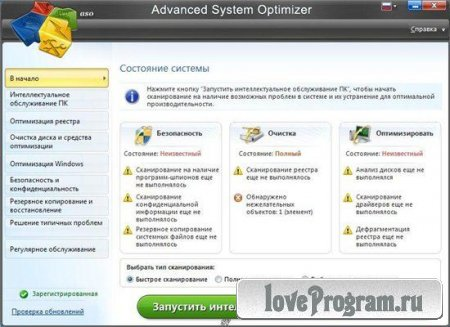 Advanced System Optimizer 3.5.1000.14337 Portable by Maverick