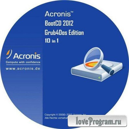 Acronis BootCD 2012 Grub4Dos Edition v.4 (10/19/2012) 10 in 1