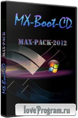 Мультизагрузочный диск MX-Boot-CD v.6.12 build 2504 (Lite&eXtended) @ DOS v8.0 MAX-Pack-2012 (2012/RUS)
