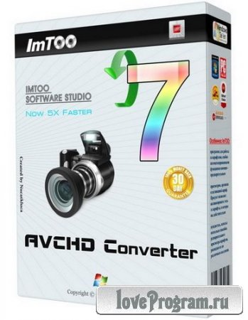 ImTOO AVCHD Converter v 7.6.0 Build 20121027 Final
