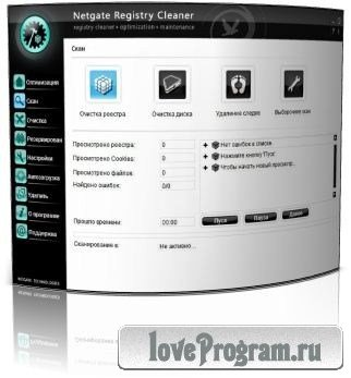 NETGATE Registry Cleaner v4.0.605.0 Final.2012.Ml.Rus.