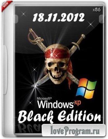 Windows XP Professional SP3 Black Edition (х86/ENG/RUS) (18.11.2012)