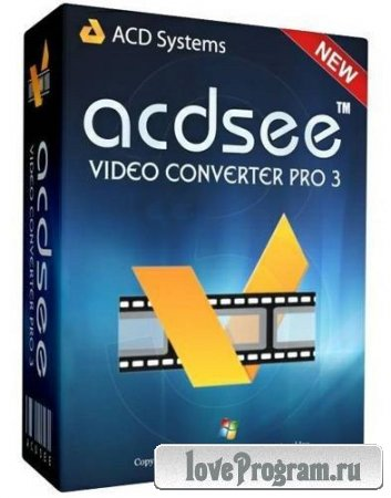 ACD Systems ACDSee Video Converter Pro 3.0.24.0 Rus Portable by Maverick