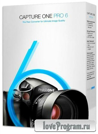 Phase One Capture One PRO v6.4.3 Build 58953 Final (2012)
