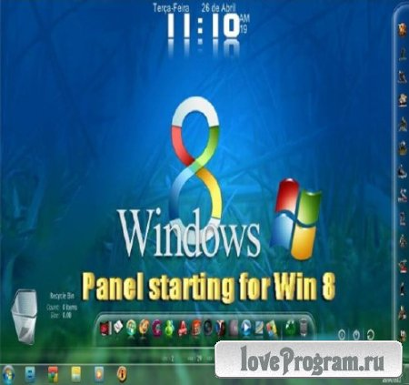 Panel starting for Win 8