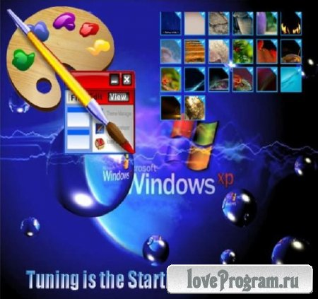 Tuning is the Starting screen Win 8