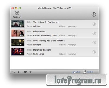 YouTube to MP3 2.7.1