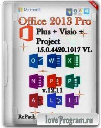 Microsoft Office 2013 Pro Plus v.15.0.4420.1017 VL (2013/RUS/MULTI/PC/RePack SPecialiST/Win All)