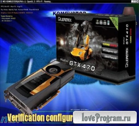 Verification configurations video card 2
